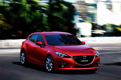 The 2014 Mazda3 was unveiled through a global Xbox Live stream late Wednesday night.  (PRNewsFoto/Bill Jacobs Automotive Group)