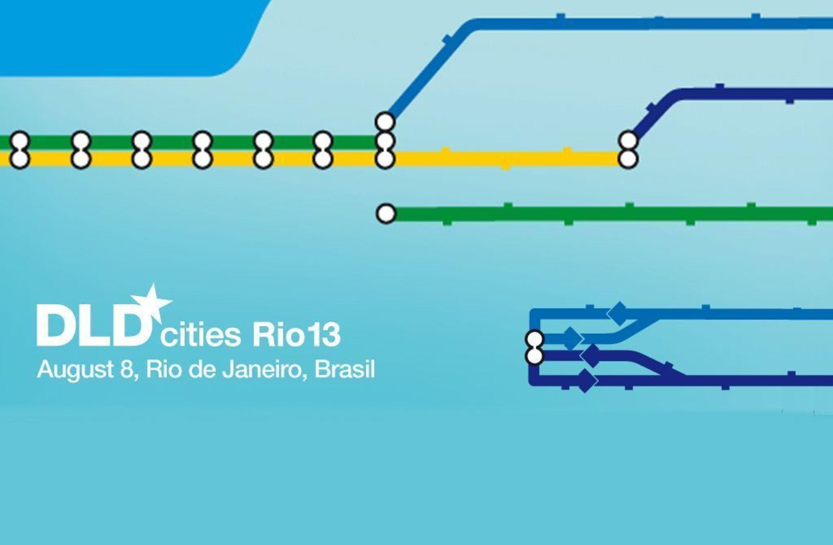 DLDcities Rio13 logo (PRNewsFoto/Hubert Burda Media)