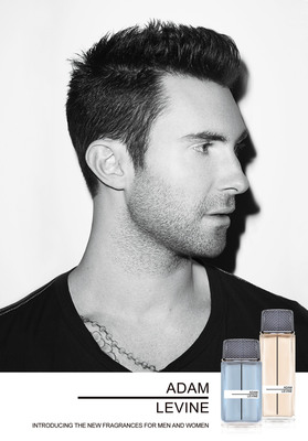 Adam Levine To Debut His Own Signature Fragrance For Men And Women, Adam Levine, Exclusively At Macy's.  (PRNewsFoto/Adrenalina Inc)