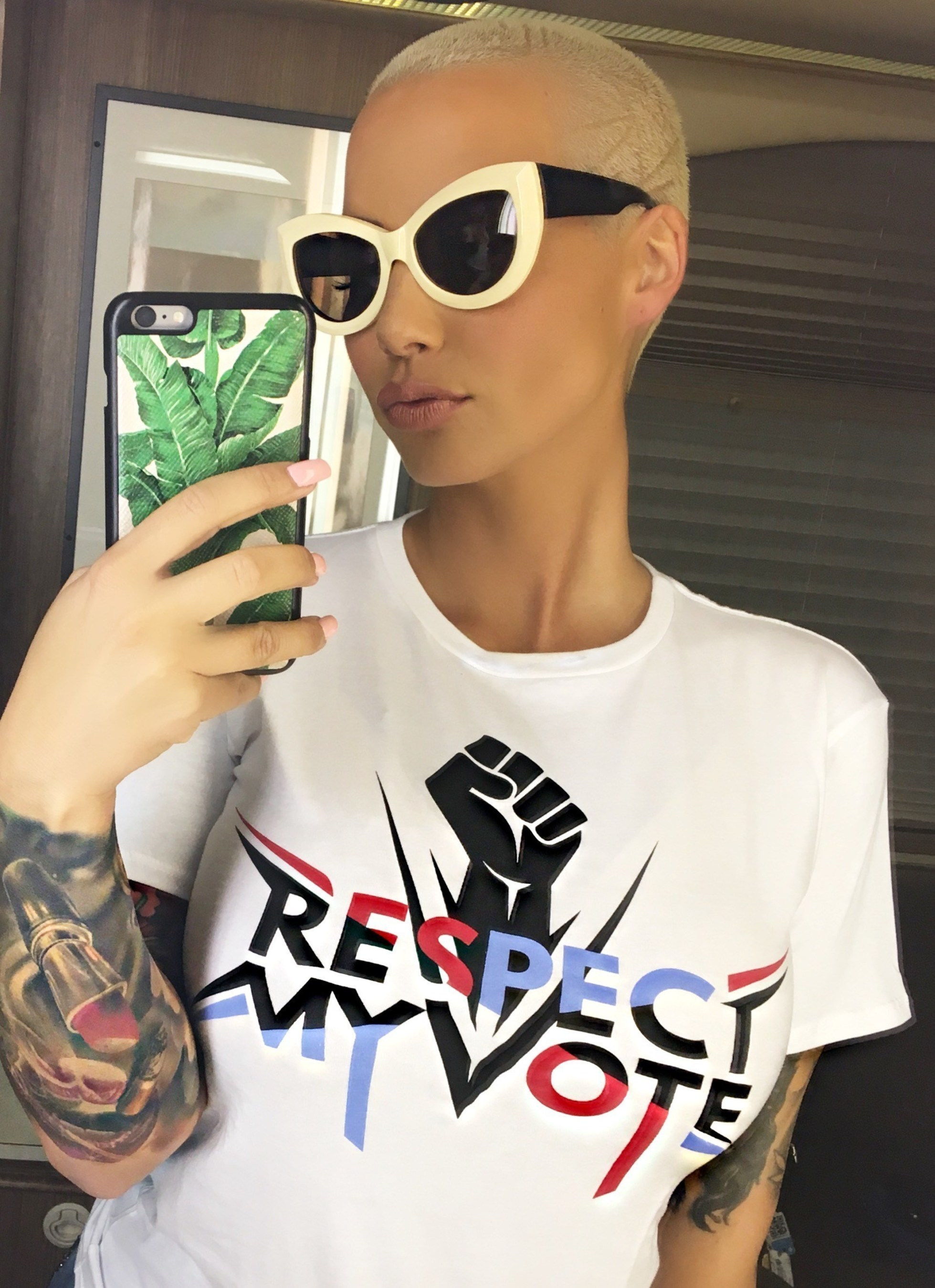 Dancing with the Stars Contestant, Model, Author And Talk Show Host Amber Rose Announced As Spokesperson For Respect My Vote! Campaign