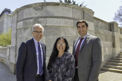 Harvard Medical School (HMS) Center for Primary Care and Southcentral Foundation formed a partnership designed to foster collaborations in research, education and practice. Pictured from left to right are HMS Center for Primary Care Director Dr. Russ Phillips, Southcentral Foundation President/CEO Dr. Katherine Gottlieb and HMS Center for Primary Care Co- Director Dr. Andy Ellner.