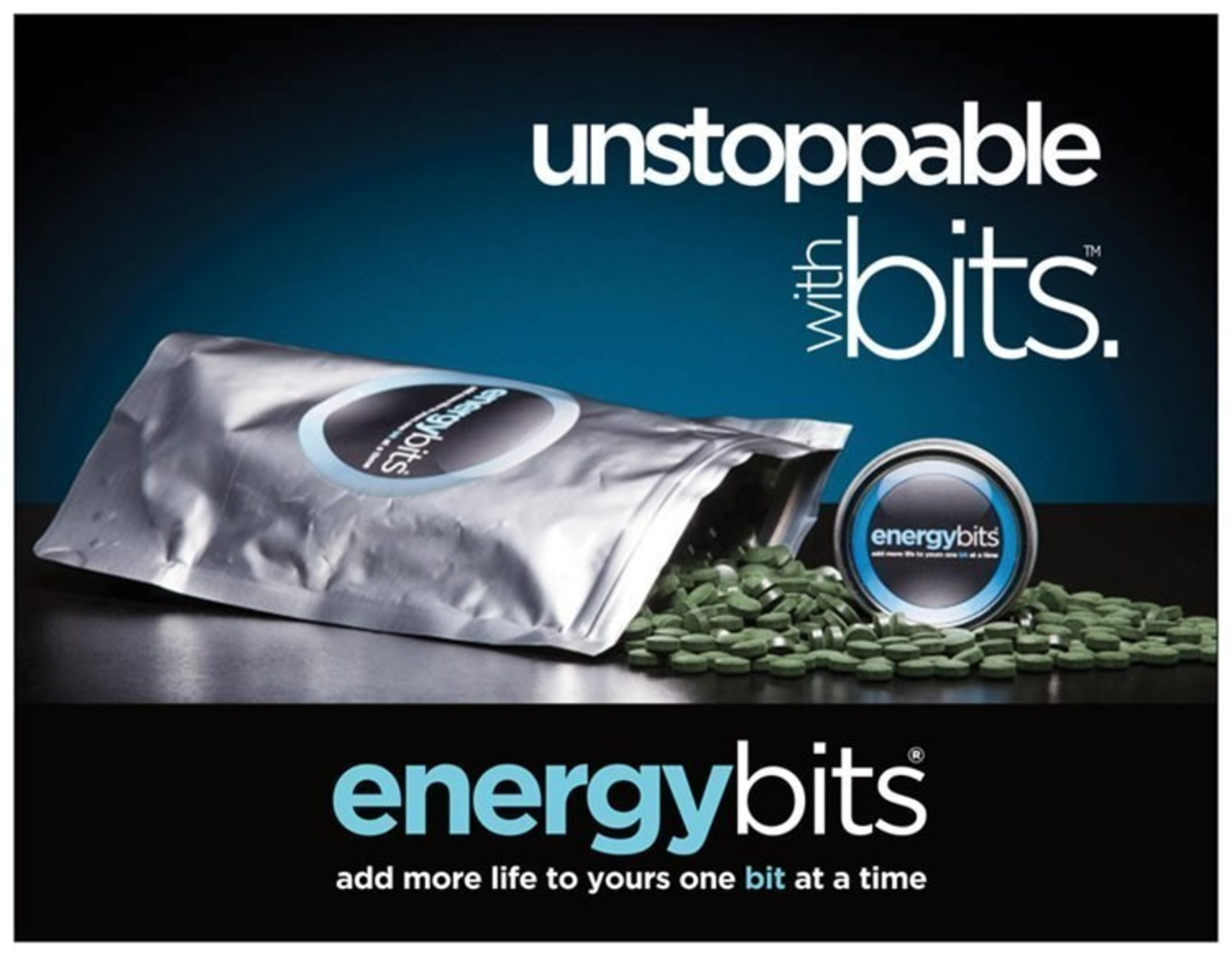 Athletes are unstoppable with ENERGYbits algae tabs