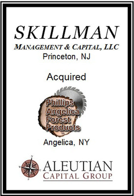 Aleutian Capital Transaction:  Skillman Acquires Phillips Angelica.  (PRNewsFoto/Aleutian Capital Group)