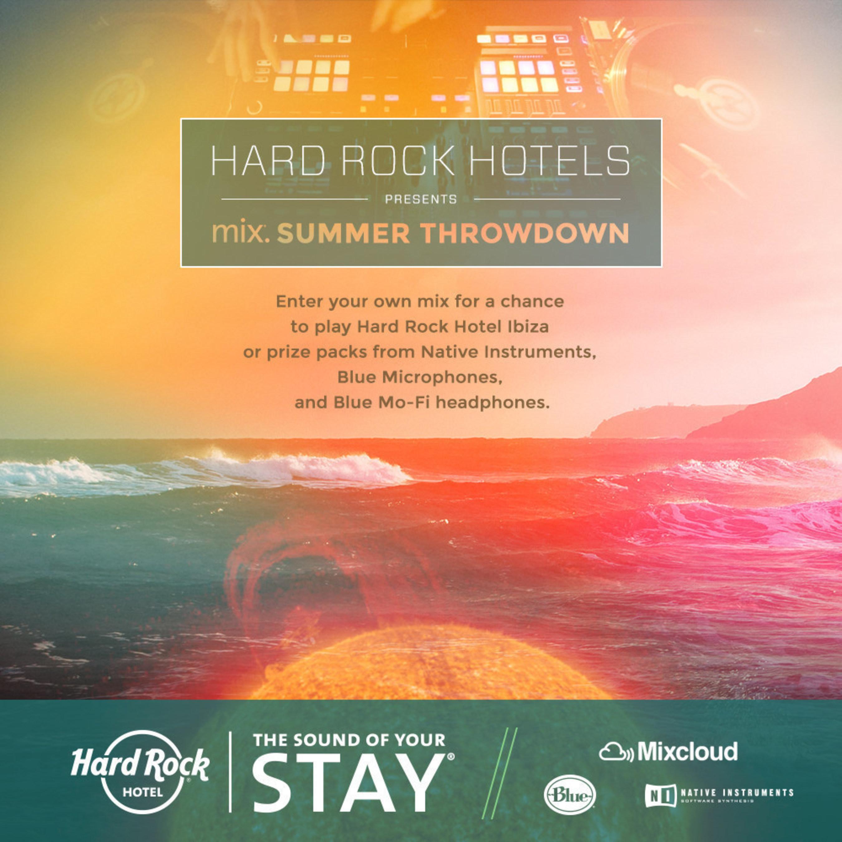 Hard Rock and Mixcloud Launch Global DJ Contest