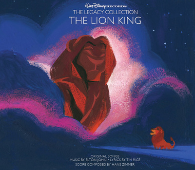 Lion King cover art (PRNewsFoto/Walt Disney Records)