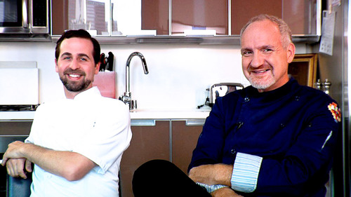 Chefs Tal Ronnen and Art Smith.  (PRNewsFoto/LYFE Kitchen)