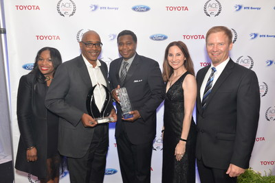 FCA US LLC was named Corporation of the Year at the Michigan Minority Supplier Development Council's 33rd annual Ambassadors Championing Excellence Awards, honoring excellence and ongoing commitment to working with and helping to develop and mentor minority business enterprises.
