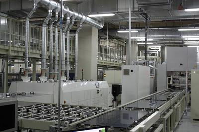 TSMC Solar S-Fab production line, located in Taichung, Taiwan.  (PRNewsFoto/TSMC Solar Ltd.)