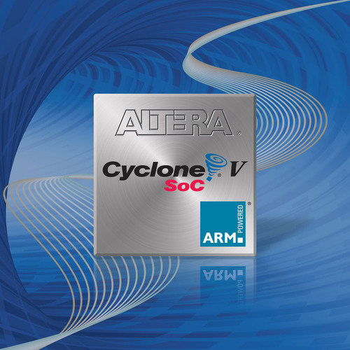 Altera Cyclone V SoC.  (PRNewsFoto/Altera Corporation)