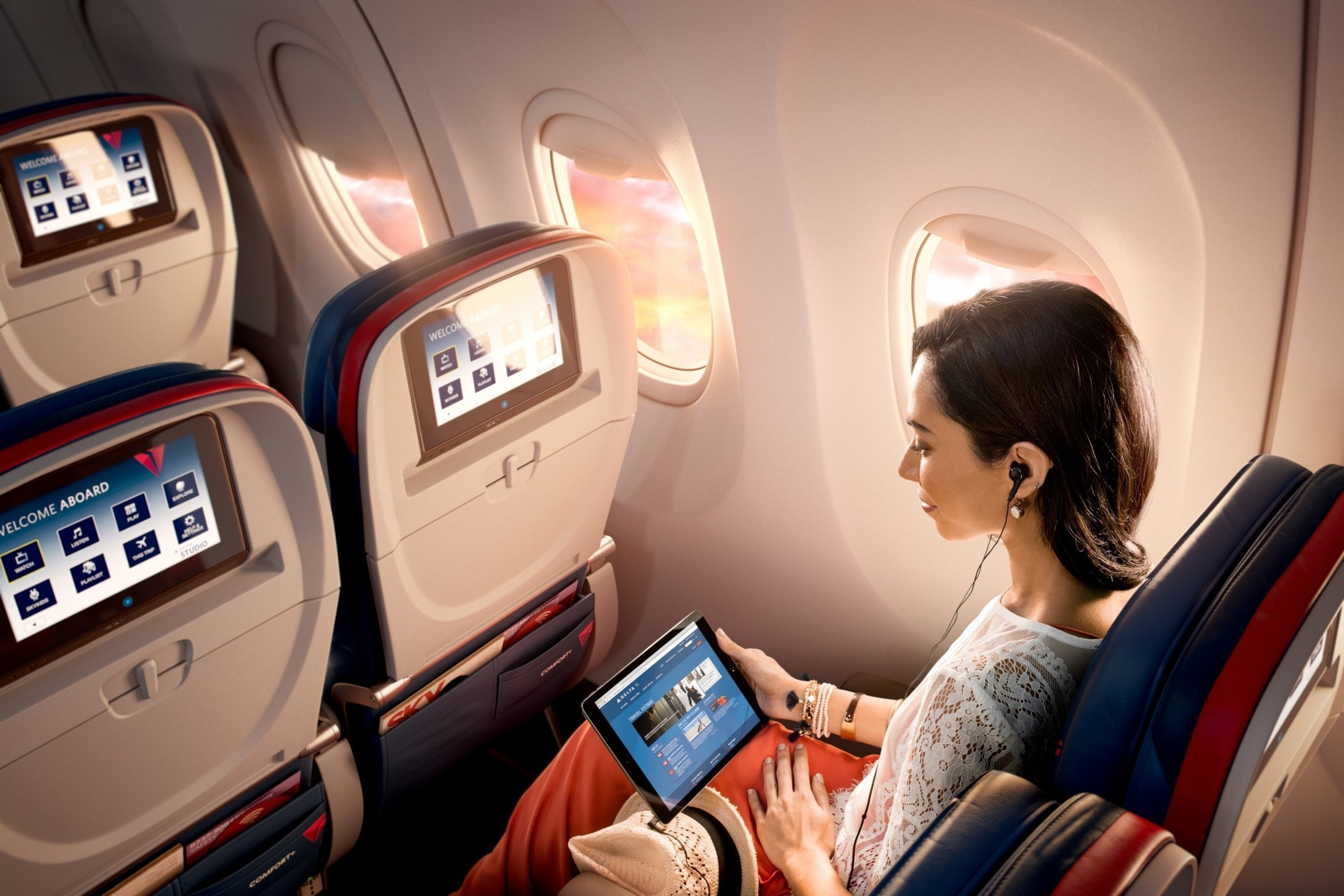Delta Becomes Only U.S. Airline to Offer All In-Flight Entertainment For Free