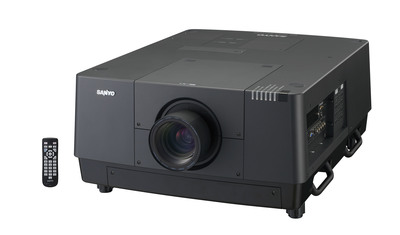 SANYO PLC-HF15000L LARGE VENUE PROJECTOR PRODUCES BEST-IN-CLASS BRIGHTNESS AT 15,000 ANSI LUMENS.  (PRNewsFoto/SANYO North America Corp.)