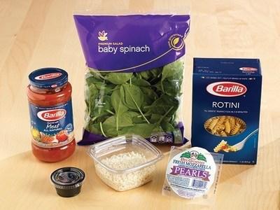 Peapod Meal Kits featuring Barilla Recipes