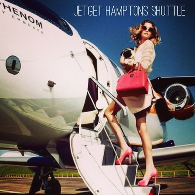 JetGet, offering flight solutions from New York to the Hamptons starting Memorial Day Weekend, 2015.
