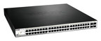 The DGS-1210-52MP represents D-Link's highest density Web Smart PoE switch.