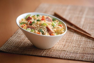 This September, Minute Rice celebrates National Rice Month with the new Minute Rice Family Size Bowl, available in whole grain brown rice and white rice options. Try this Speedy Ham Fried Rice for a quick, convenient and delicious meal your entire family will love.