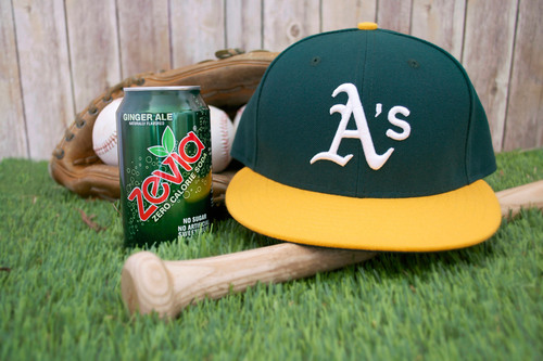 Zevia Partners with the Oakland A's to Offer Smarter Soda Alternatives at the Ballpark.  (PRNewsFoto/Zevia)