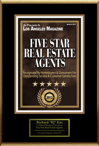 "Richard ""RJ"" Kas Selected For ""Five Star Real Estate Agents"".  (PRNewsFoto/American Registry)"