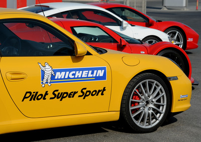 Born From Endurance Racing, the MICHELIN(R) Pilot(R) Super Sport Tire Is Now Available.  (PRNewsFoto/Michelin)