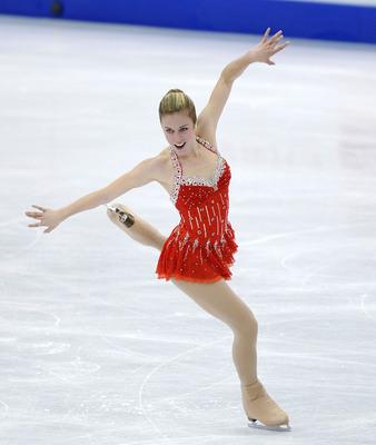 PANDORA Jewelry Announces Partnership with U.S. Figure Skating, Four Continents Champion Ashley Wagner.  (PRNewsFoto/PANDORA)