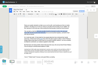 UberConference Integrates Google Drive for Collaborative File Sharing and Editing
