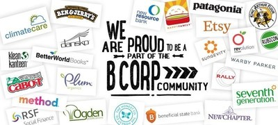 ClimateCare becomes a Certified B Corporation, joining a global movement dedicated to using business as a force for good. (PRNewsFoto/ClimateCare)