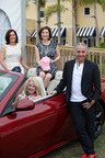 Maserati GranTurismo Convertible Sport brings in funds to support charities associated with The Naples Winter Wine Festival. In the driver's seat co-chair Anne Welsh McNulty, who won the drawing on Sunday, January 26 at the Celebration Brunch following the Naples Winter Wine Festival. Behind her are Adria Starkey and Linda Richards Malone also co-chairs of the Festival. They are featured with Gabriel Galasso of Maserati. (PRNewsFoto/Maserati North America, Lane Wilkinson)