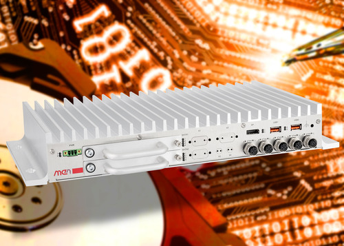 RAID-Capable Box PC from MEN Micro Offers Flexible Storage Capacity. (PRNewsFoto/MEN Micro Inc.) (PRNewsFoto/MEN MICRO INC.)