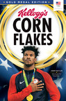Jimmy Butler of Team Kellogg's is being featured on gold medal edition boxes of Kellogg's Corn Flakes. #GetsMeStarted