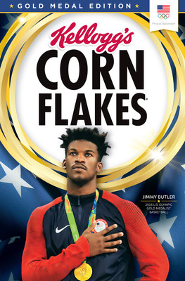 First-Time Olympian And Gold Medalist Jimmy Butler To Adorn Gold Medal Edition Boxes Of Kellogg's® Corn Flakes