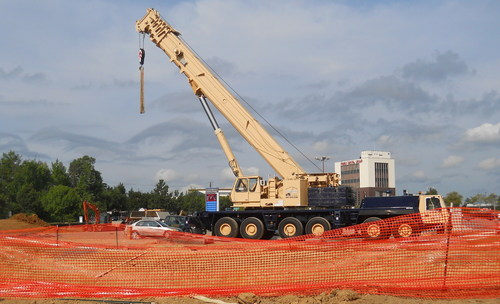 Construction underway at The Gateway at University Town Center, Hyattsville, MD (PRNewsFoto/ECHO Realty, LP)