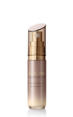 ARTISTRY YOUTH XTEND Serum Concentrate launches.  (PRNewsFoto/Amway)