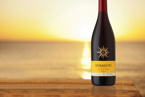 Mirassou Sunset Red.  (PRNewsFoto/Mirassou Winery)