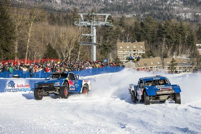 Red Bull Frozen Rush, the only off-road race on snow, returns to Maine in January 2016.