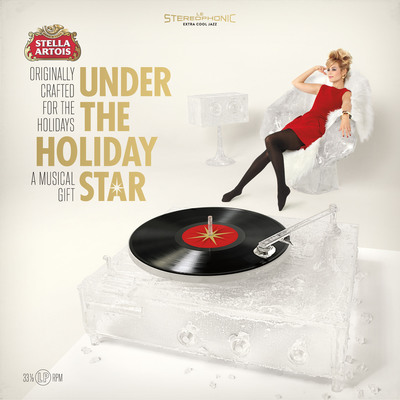 Stella Artois Under The Holiday Star Album Cover.  (PRNewsFoto/Stella Artois)