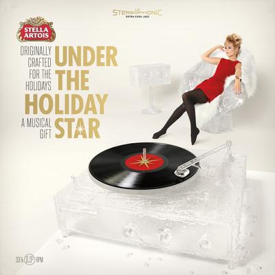 Stella Artois Under The Holiday Star Album Cover.  (PRNewsFoto/Stella Artois)