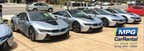 MPG Car Rental now renting the BMW i8