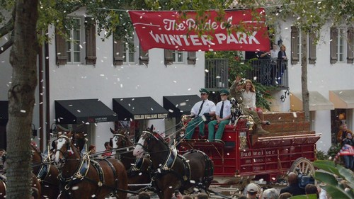 """In Anheuser-Busch's commercial """"Hero's Welcome,"""" which was recently nominated for an Emmy(R) ..."""