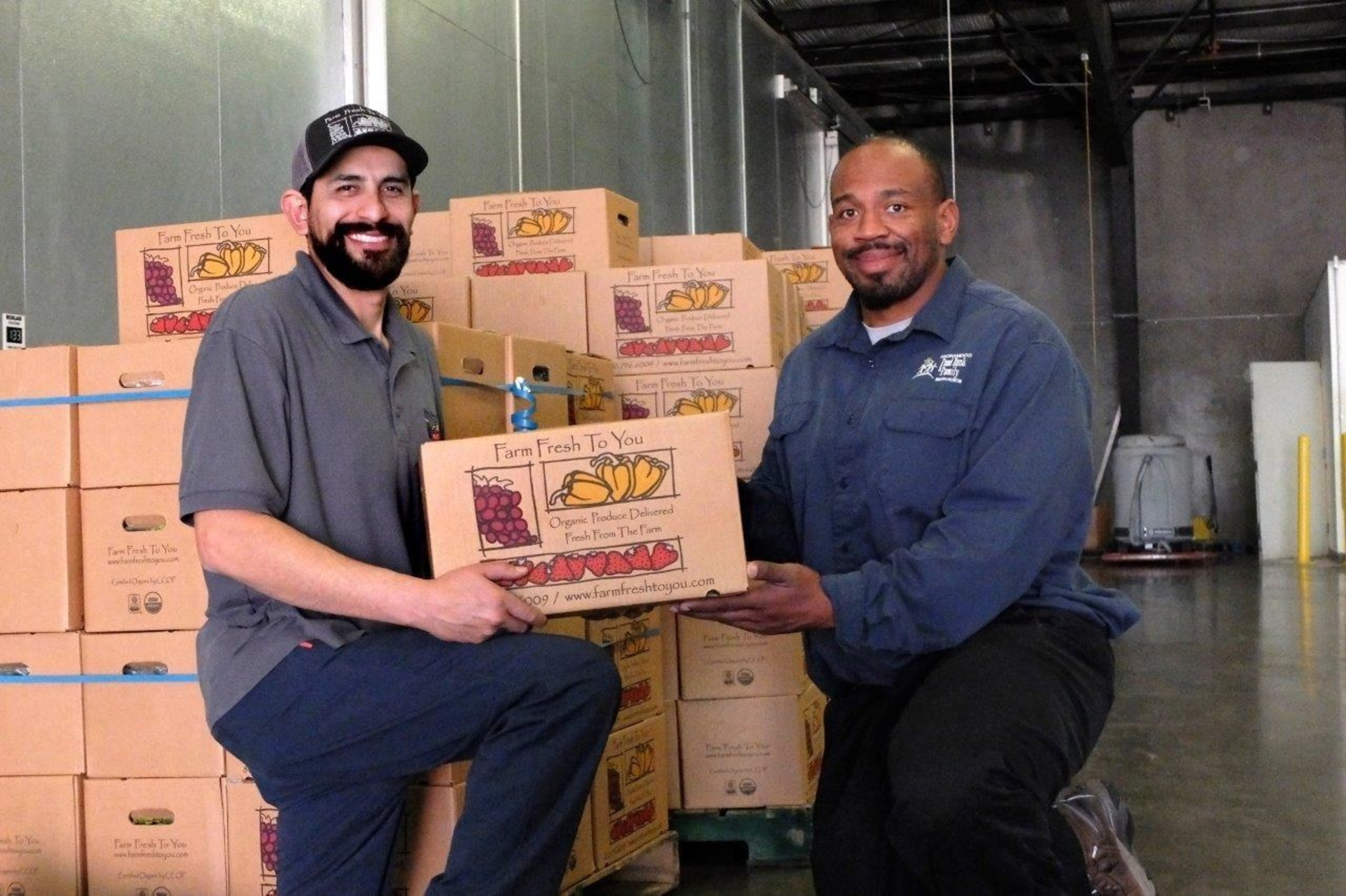 Farm Fresh To You's Donate-A-Box program has donated over 22,000 produced boxes to food banks.