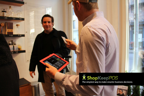 ShopKeep POS iPad Mini Register Helps Merchants Move Through Lines Faster