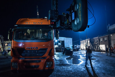 The Iveco Stralis Hi-Way, a heavy duty commercial vehicle from CNH Industrial brand Iveco, will appear in a chase scene in the upcoming Batman v Superman: Dawn of Justice.
