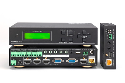 KanexPro releases 5-Input Mini HD Scaler with HDBaseT(TM) output for corporate boardrooms and lecture halls