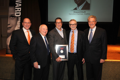 From Left to Right: Laurence Boschetto, CEO & President, Draftfcb; Don Zuckert, Former Chairman and CEO, Ted ...
