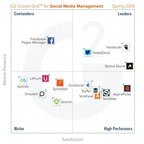G2 Crowd publishes Spring 2015 rankings of the best social media management tools, based on user reviews