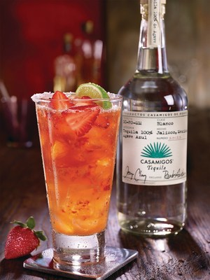 TGI Fridays announced a national partnership with ultra-premium Casamigos Tequila. Casamigos will now be available in participating U.S. Fridays restaurants and featured in two new drinks this spring and summer, including the Ultimate Casamigos Strawberry Margarita pictured above.