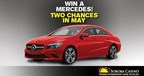 Club Soboba members can win one of two 2015 Mercedes-Benz and a share of $10,000 in free slot play in May!
