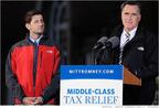 Mitt and Paul embracing The North Face brand.....  (PRNewsFoto/InTheSport)