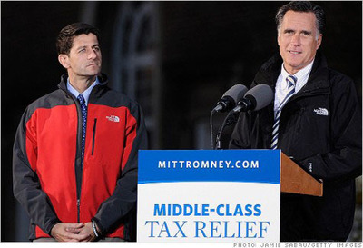 Mitt and Paul embracing The North Face brand.....  (PRNewsFoto/InTheSport)
