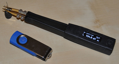 Fig. 1 - A working prototype of LCR-Reader has been created.  (PRNewsFoto/Siborg Systems)