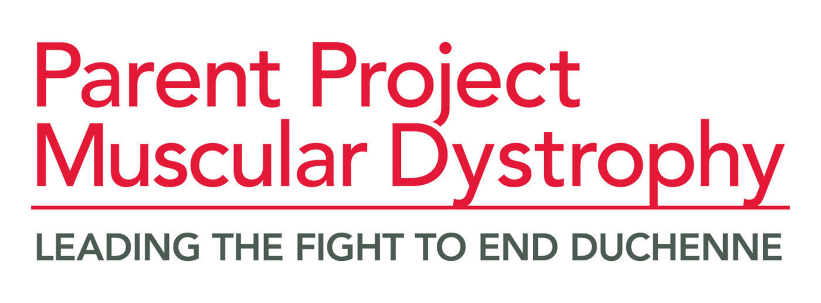 Parent Project Muscular Dystrophy logo.