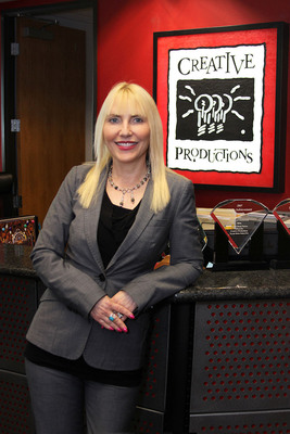 DEBORAH GOLIAN CASTRO, PRESIDENT/CEO OF CREATIVE PRODUCTIONS, NAMED ENTREPRENEUR OF THE YEAR BY WOMEN'S BUSINESS COUNCIL OF LONG BEACH.  (PRNewsFoto/Creative Productions)